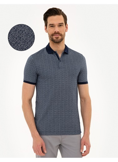 Pierre Cardin Pierre Cardin Lacivert T-Shirt Lacivert
